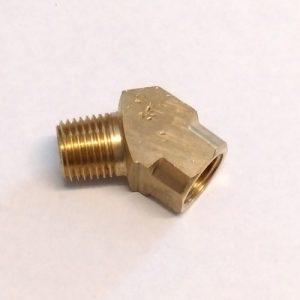Udder-Gun-Parts-Q2512-Quarter-Inch-45-deg-Brass-Fitting