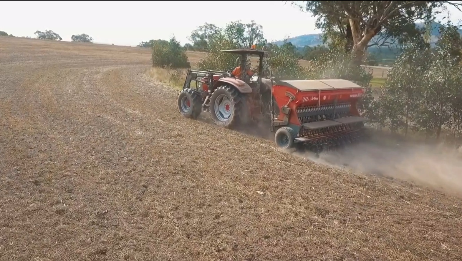 Irtem FDD Series Double Disc Seed Drill