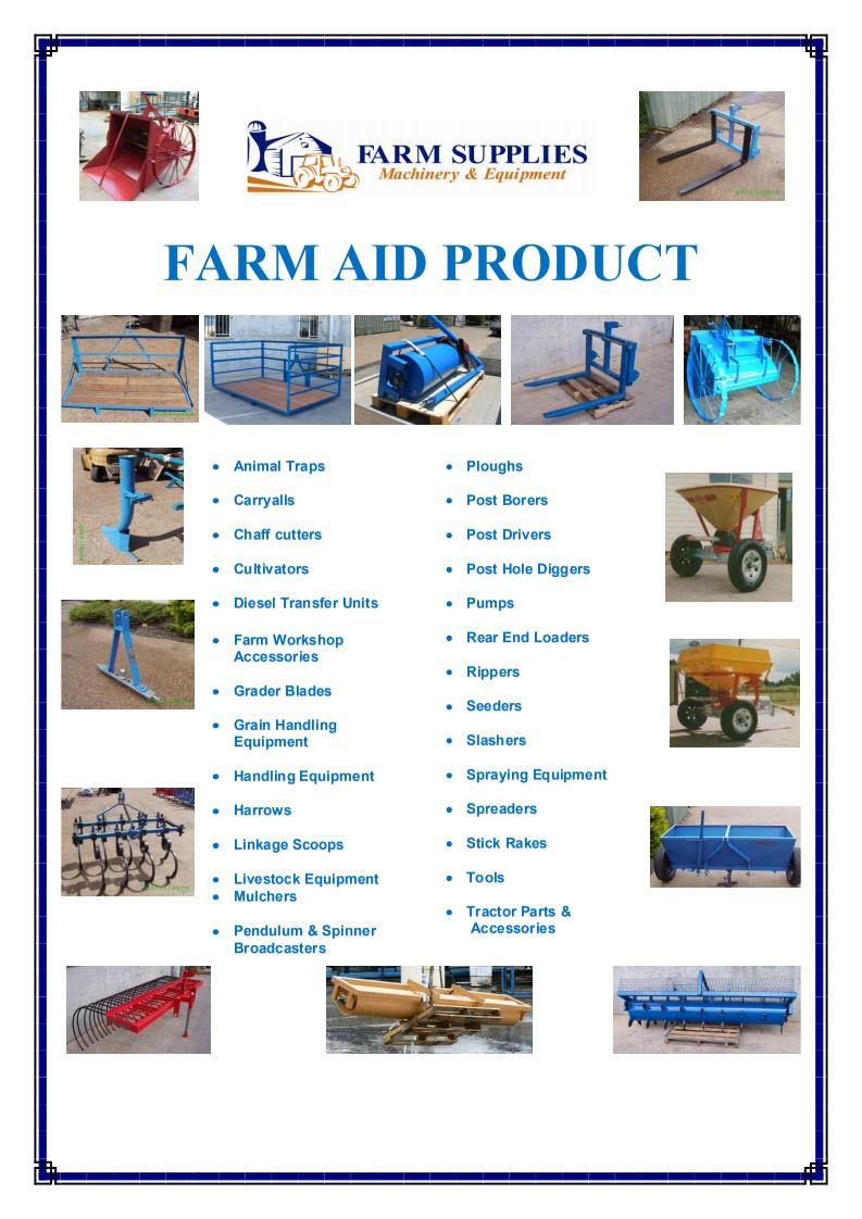 Farm-aid products 2014